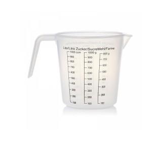Odmerka plastová 1000 ml/g
