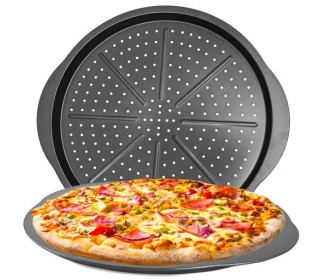 Plech na pizzu Ø 32cm E8034